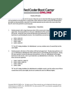 Module 17 Practice CPC Exam pdf | Artificial Cardiac Pacemaker | Surgery