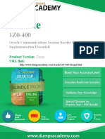 1Z0-400 Exam Easily With Questions and Answers PDF