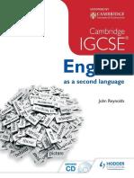Cambridge IGCSE English as a Second Language