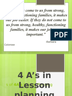 4 as of Lesson Planning POWERPOINT