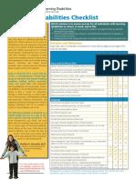 ACC LD Checklist