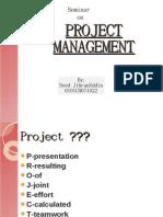 Seminar Proj Management