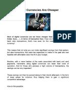 Digital Currencies Arе Chеареr - http://www.topdigitalmoney.com/