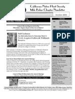 Milo Baker Chapter Newsletter, October 2004 ~ California Native Plant Society