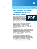 Telecom Whitepaper Radio Resource Management Radio Admission Control Radio Bearer Control 0113 1