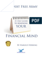 31 Day Guide to Renewing Your Financial Mind