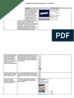 unit 65 assignment 3 - checklist
