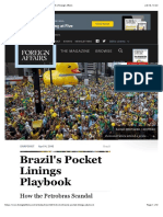 How the Petrobras Scandal Shows Brazil's Strength  Foreign Affairs