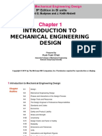 Machine Design- Chapter 1