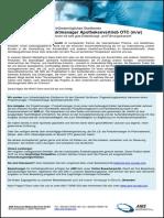 Projektmanager / Produktmanager Apothekenvertrieb OTC