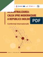 Descentralizarea Calea Spr e Modernizarea RM