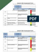 Forklift Risk Assessment