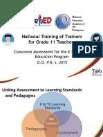 CLASSROOM ASSESSMENT FORCLSU SHS TEACHERS.ppt