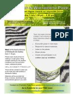 Workshop in Whitworth Park Flyer