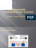 Broadband Communication System