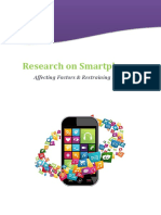 Research on Smartphones Affecting Factors & Restraining Forces