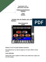 Manual Gaminator Deluxe