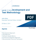 Development and Test Methodology Boeing Jeppesen JDM