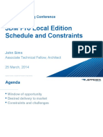 Schedule and Constraints Boeing Jeppesen JDM