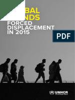 """Les """"Tendances mondiales"""" selon le Haut commissariat de l'ONU pour les réfugiés"""