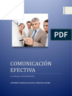 Identificación de Juicios y Distinciones Del Habla