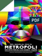 Programa Metropoli Comic Con Gijón
