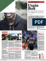 Interview Usain Bolt