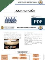 Arbol de Problemas. La Corrupcion