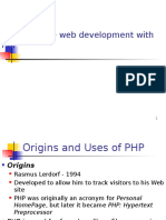 Server-side Web Development With PHP