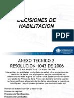 Decisiones e Informe 2014