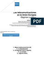 Las Telecomunicaciones en La UE