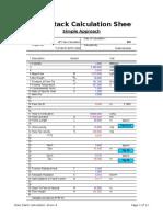 Flare Calc Sheet API RP 521