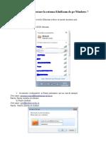 Tutorial EduRoam Windows 7