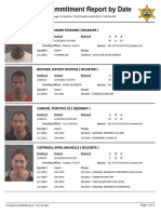 Peoria County Jail booking sheet 6/20/2016