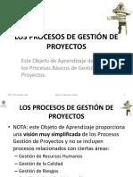 1.1.4 Los Procesos de Gesti_n de Proyectos
