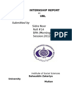 INTERNSHIP REPORT on UBL.docx