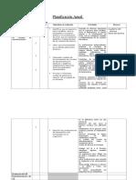 Planificación Anual Tercero Medio Plan Comun
