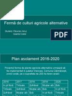 Ferma Culturi Agricole Alternative