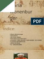 Traballo Maria Wonenburger