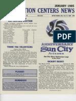 Jan 1985 Recreation Center News
