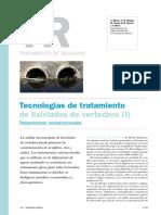 Tecnologias de Tratamiento de Lixiviados de Vertedero Tratamiento Convencionales