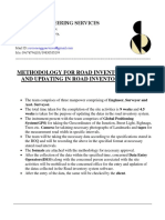 Deatailed Methodology for Road Inventory System