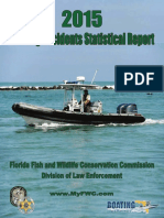 Boating Accident Statistical Report