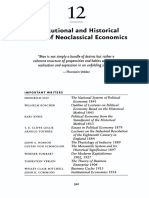 12 Institutional and Historical Critics of Neoclassical Economics