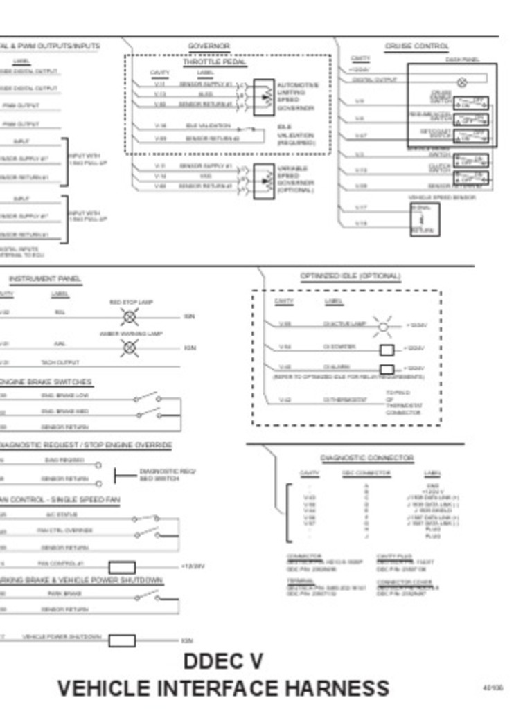 1509918203 diagrama de cabina oem ddec v ddec v wiring diagram at aneh.co