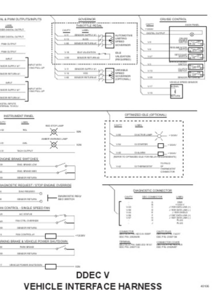 Ddec 6 Wiring Diagram - Wiring Diagrams Ddec Ii Wiring Diagram on