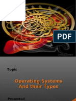 Presentation on Operating System