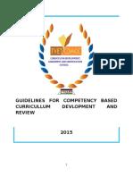 Cbet Curriculum Regulations