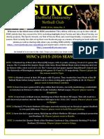 SUNC Newsletter June