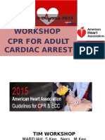Workshop CPR Adult Cardiac Arrest